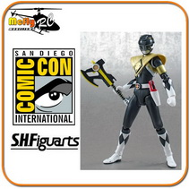 S.h Figuarts Armored Black Ranger Sdcc Power Ranger Preto