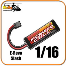 Bateria 2925 Carro Traxxas E-revo 1/16 Slash Mustang Rally