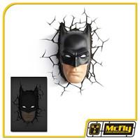 Luminária 3D Light FX Rosto Batman com LED