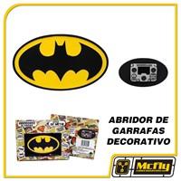 Abridor de Garrafas com Imã Batman LOGO DC