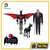 DC comic Batman Beyond and Bruce Wayne Animated Series
