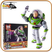 Revoltech Boneco Buzz Lightyear Toy Story 3 LR 046 Disney Pixar