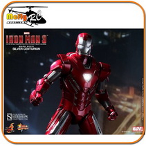 Hot Toys Silver Centurion Mark Xxxiii - Iron Man 3 - 1/6
