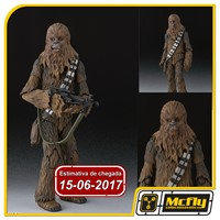 ( Reserva 10% do valor) S.H.FIGUARTS STAR WARS CHEWBACCA EPISODE IV NEW HOPE