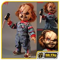 Child´s Play - Talking Scarred Chucky 38 Cm Com Som - Mezco