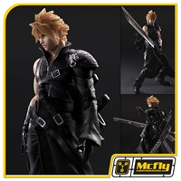 Final FantasyVII 7 ADVENT CHILDREN Cloud Strife Play Arts Kai