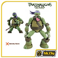 Revoltech Donatello Tartarugas Ninjas Heloris Mutantes Turtles
