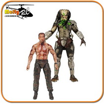 Neca Predador - Predator Vs Dutch - Pack Com 2 Lacrado