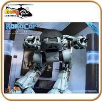 Hot Toys 1/6 Mms204 Robocop Ed-209 With Sound Effects (som)