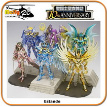 Cavaleiros Do Zodiaco Cloth Myth 10th Anniverssary Dx Stand Pedestal
