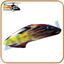 Align T-rex 450l Dominator Canopy Hc4354 450l Painted Helicoptero