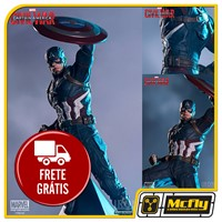 Iron Studios Captain Amercia Civil War 1/10