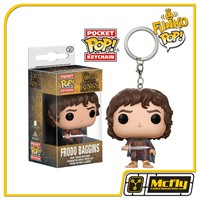 FUNKO POP Keychain Frodo Baggins The Lord Of The Rings Chaveiro