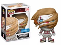Pop Funko 474 Pennywise With Wig Exclusive Walmart