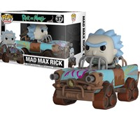 POP Funko 37 Mad Max Rick and Morty