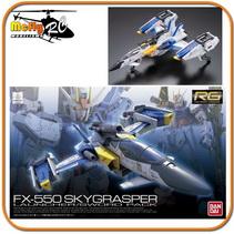 Gundam 1/144 RG #06 FX-550 Skygrasper [Launcher / Sword Pack]