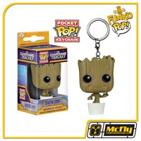FUNKO POP Keychain: GOTG - Baby Groot - Chaveiro