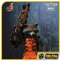 Hot Toys Rocket MMS252 GUARDIANS OF THE GALAXY