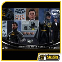 Hot Toys Batman Returns BATMAN e BRUCE WAYNE MMS294 + BONUS
