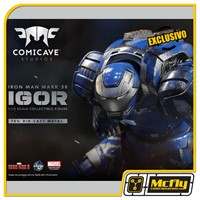 Comicave Iron Man Mark 38 Igor 1/12 Diecast Metal COM LED