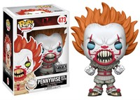 POP FUNKO 473 PENNYWISE WITH TEETH EXCLUSIVE FYE