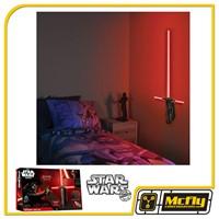 Luminária Star Wars Sabre de Luz Kylo Ren com LED