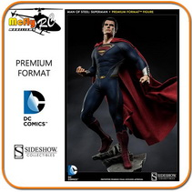 Man Of Steel Premium Format Sideshow Collectibles 65 cm