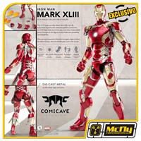 Comicave Iron Man Mark XLIII 43 1/12 Diecast EXCLUSIVO MCFLY