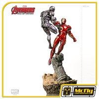 Estátua Iron Man Mark XLV 1/6 Diorama - Age of Ultron - 59,5 cm - Iron Studios