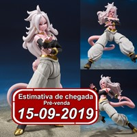 (RESERVA 10% DO VALOR) S.H Figuarts Android 21 Dragon Ball