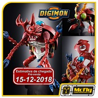 (RESERVA 10% DO VALOR) Bandai Diecast Evolution Digimon Mega Kabuterimon 06