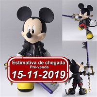 (RESERVA 10% DO VALOR) Bring Arts Kingdom Hearts III Mickey The King