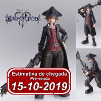 (RESERVA 10% DO VALOR) Bring Arts Kingdom Hearts III Sora Pirate Of Caribbean Version