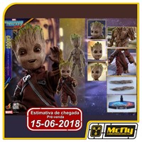 (RESERVA 10% DO VALOR) HOT TOYS Guardians of the Galaxy Vol 2 GROOT LIFE SIZE LMS004