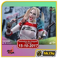 (RESERVA 10% DO VALOR)Hot Toys SUICIDE SQUAD Harley Quinn MMS383