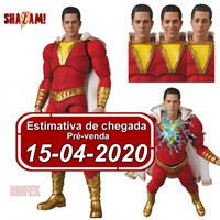 (RESERVA 10% DO VALOR) MAFEX Shazam DC Action Figure