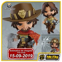 (RESERVA 10% DO VALOR) Nendoroid 1030 McCree Overwatch Classic Skin Edition