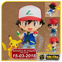 (RESERVA 10% DO VALOR) Nendoroid 800 Ash & Pikachu Pokemon