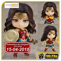 (RESERVA 10% DO VALOR) Nendoroid 818 Wonder Woman Heros Edition Goodsmile