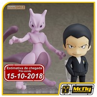 (RESERVA 10% DO VALOR) Nendoroid 875 Giovanni & Mewtwo Pokemon