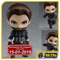 (RESERVA 10% DO VALOR) Nendoroid 923 Captain America Avengers Infinity War