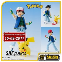 (Reserva 10% do Valor) S.H Figuarts Pokemon Ash