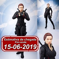 (RESERVA 10% DO VALOR) S.H Figuarts Black Widow Avengers End Game