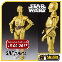 (Reserva 10% do Valor) S.H Figuarts C-3PO Star Wars C3-PO