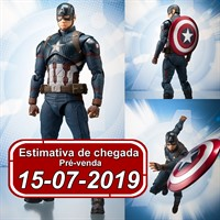 (RESERVA 10% DO VALOR) S.H Figuarts Captain America Avengers End Game