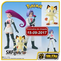 (Reserva 10% do Valor) S.H Figuarts Equipe Rocket Pokemon