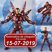 (RESERVA 10% DO VALOR) S.H Figuarts Iron Man Mark 50 Avengers End Game