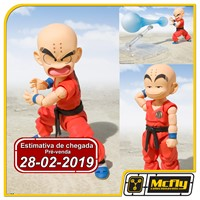 (RESERVA 10% DO VALOR)S.H Figuarts Kid Kuririn Kulilin Dragon Ball z 28/02