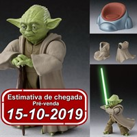 (RESERVA 10% DO VALOR) S.H Figuarts Mestre Yoda STAR WARS Revenge of the Sith