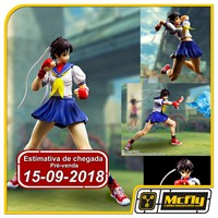 (RESERVA 10% DO VALOR) S.H Figuarts Sakura Street Fighter Bandai
